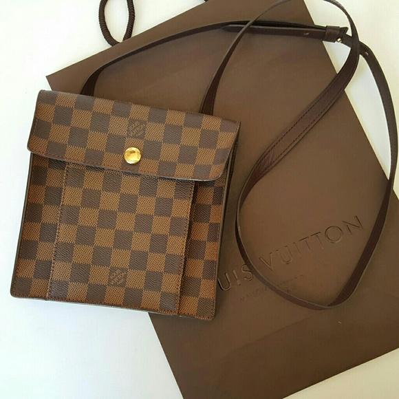 ea8a16f8a5f2 Louis Vuitton Handbags - LOUIS VUITTON DAMIER EBENE PIMLICO CROSSBODY BAG