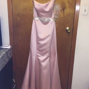 Blush Trumpet Gown