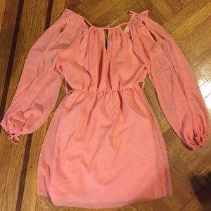 Lipsy London Dresses & Skirts - Lipsy London peach dress