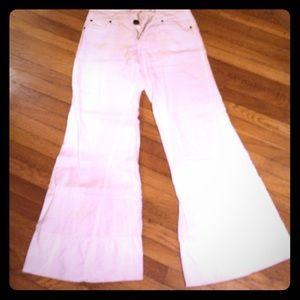 Pants - Level 99 wide leg flare linen size 29