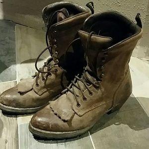 dan Post Shoes - Dan Post lace up boots