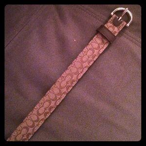 Coach Accessories - Coach skinny belt