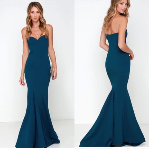 40% off Lulu's Dresses & Skirts - Lulu's Sorella Navy Blue ...