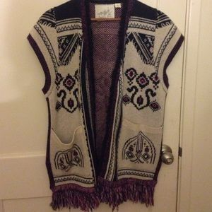 Angel of the North Sweaters - Angel of the North vest cardigan