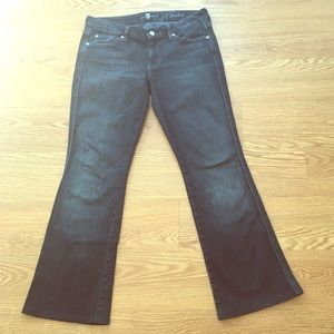 7 for all mankind A-pocket flare