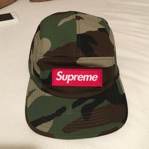 Supreme Camo hat. M 561cad8cd6b4a17c0a02b320 47c3d203b2f