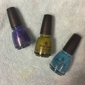 China Glaze Nail Polish Trio Set