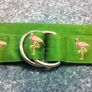 J. Crew Accessories - Flamingo belt