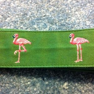 J. Crew Accessories - Flamingo belt