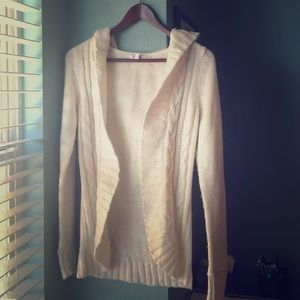 Delia's hooded knit cardigan