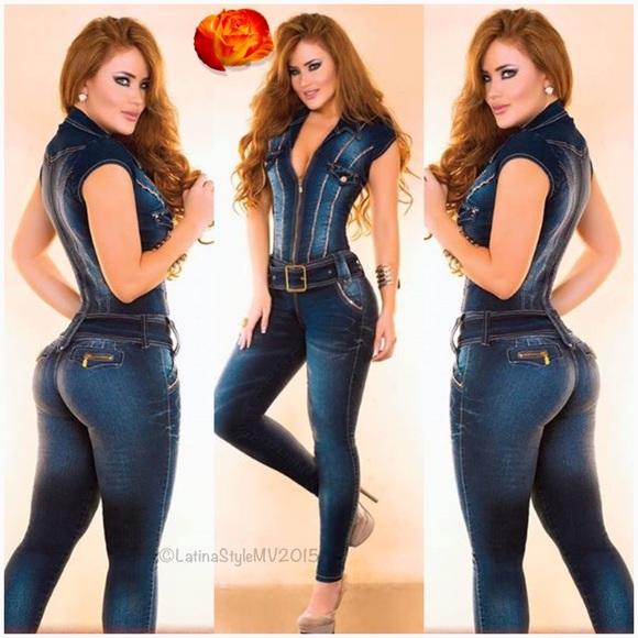 337e2eabf5a Colombian Jumpsuit Jeans