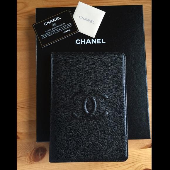 01c0585f3f06 CHANEL Accessories | Ipad Mini Caviar Case | Poshmark