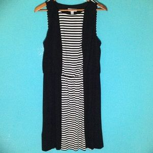 Ivy and Blu Dresses & Skirts - NWT Black and White Striped Dress.