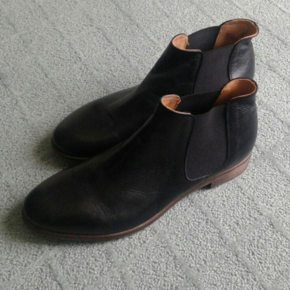 e6035f56979fa Gidigio Vero Cuoio leather ankle boots. M 561d3cf4d6b4a1c4c002d358