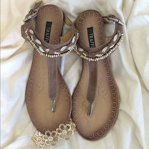 Traffic Shoes - Traffic Beaded Sandals