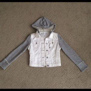 Aeropostale White and Grey jacket