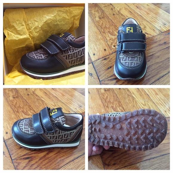 Fendi Shoes | Fendi Toddler Sneakers