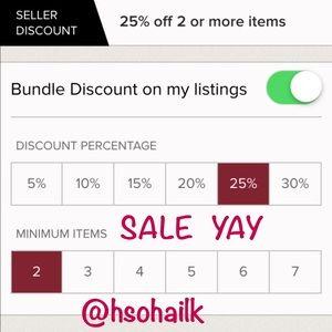 My bundle discount