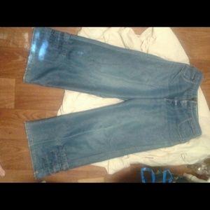 Kikgirl vintage phat pants flared raver jeans