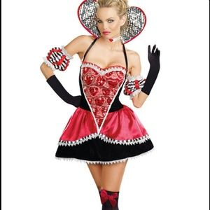 Other - New Queen of Hearts Halloween Costume
