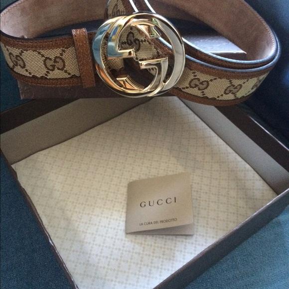 5988fa4fe Gucci Accessories   Authentic Belt Unisex   Poshmark