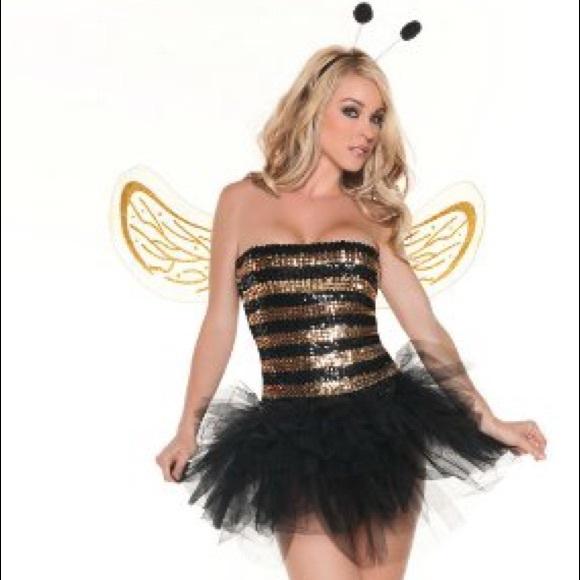 Sexy honey bee costume