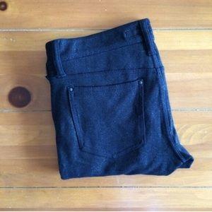 Joe's Jeans   Black Metallic Leggings