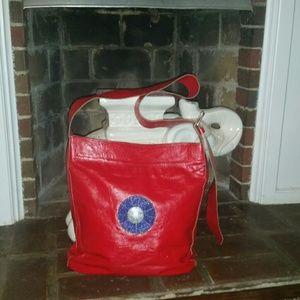 unknown   Handbags - Super Stylish Red Leather Handbag
