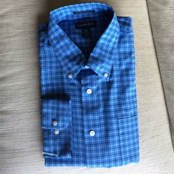 40 Off Lands 39 End Other Men 39 S No Iron Twill Shirt In