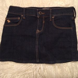 Abercrombie Kids Other - Abercrombie Kids Dark Wash Jean Skirt
