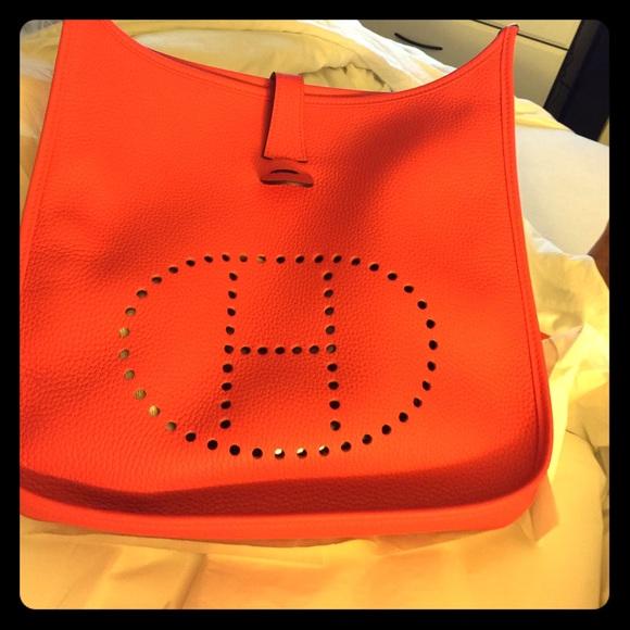 hermes birkin crocodile price - Hermes Evelyne Handbags on Poshmark