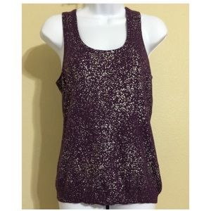 Calvin Klein Tops - 🎉HP🎉Calvin Klein Purple Top Size M