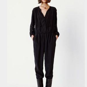 🎉🎉Host Pick 🎉🎉 Club Monaco Silk Jumpsuit