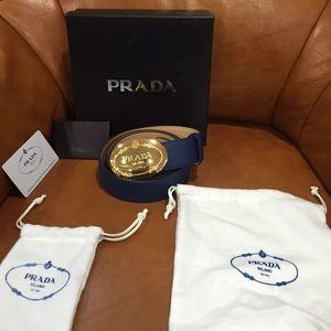 Prada belt buckle on Poshmark
