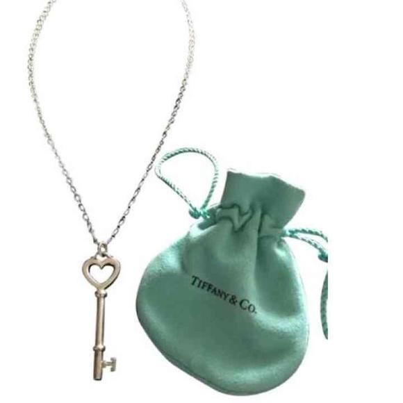 Tiffany & Company heart key necklace