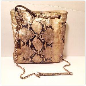 DKNY Handbags - DKNY Snakeskin Handbag
