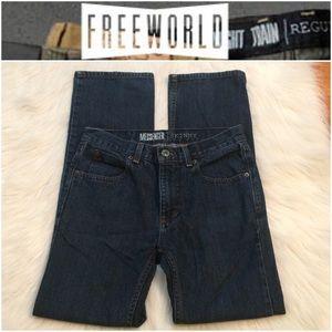 Free World Jeans Messenger Skinny Sz28 Poshmark