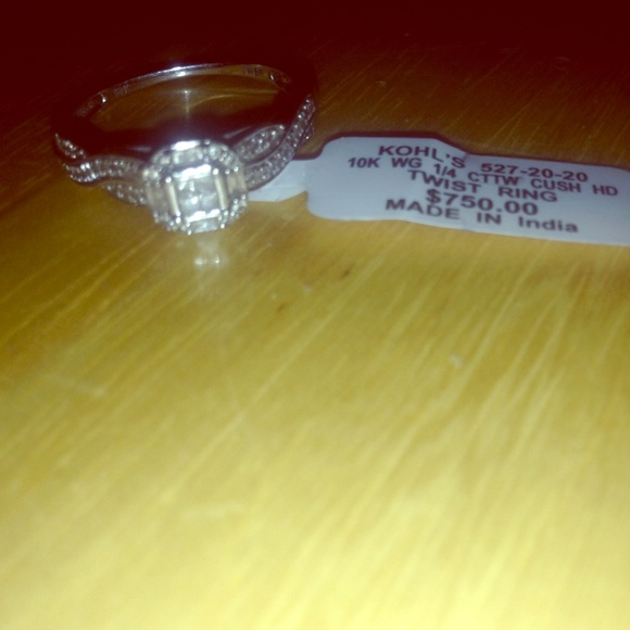 off Kohls Jewelry Engagement Promise Ring from Bethany s