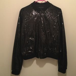 Guess Jackets & Blazers - Guess sequins jacket