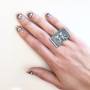 Pamela Love Jewelry - 🎉HP🎉Pamela Love Day Of The Dead Cocktail Ring