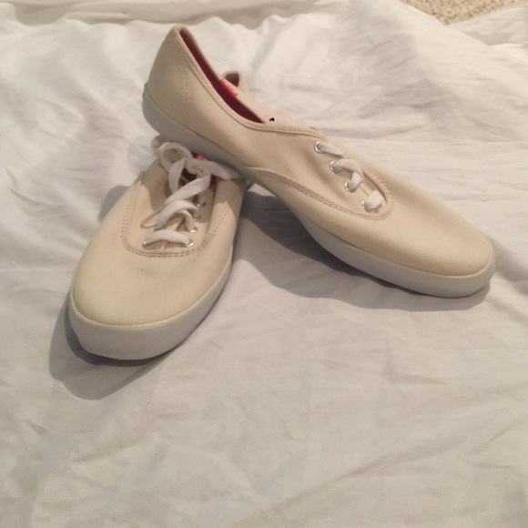 Brand New Tan Keds Canvas Sneakers
