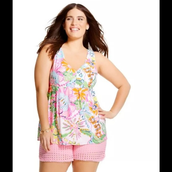 Lilly Pulitzer For Target Tops Plus Size Tank 3x Poshmark