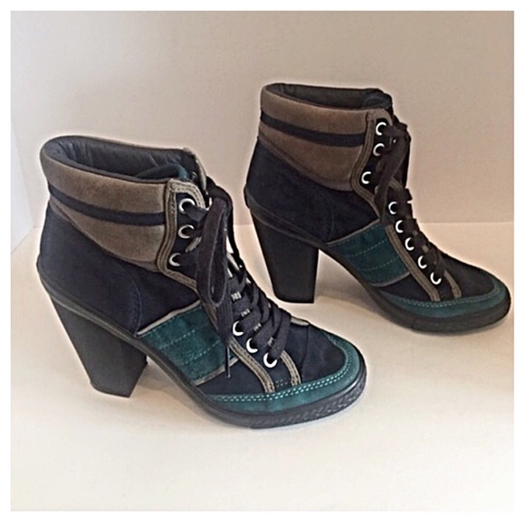 c018d4f405b5 Ash Shoes - Ash Limited Edition Suede Heeled Ankle Boots🎉HP🎉
