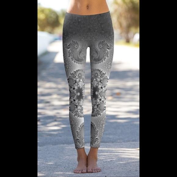 d30f0ab956227b Om Shanti Pants | Nwt Yoga Leggings | Poshmark