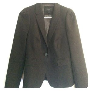 Jcrew essential black blazer