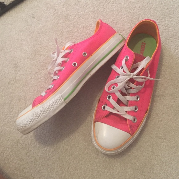 20 converse shoes neon pink converse from s