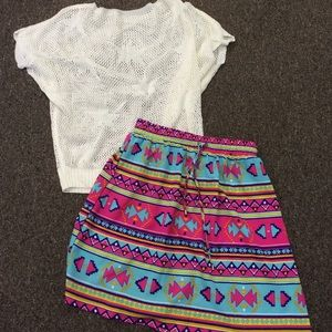 "AFC ""Kingsley"" skirt - Aztec"