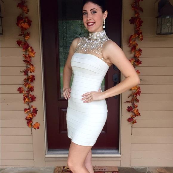 Sherri Hill Bandage Dress