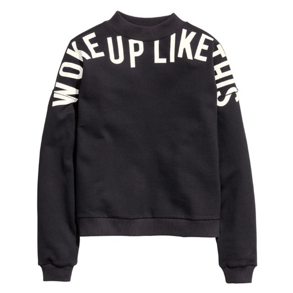 H M Tops Woke Up Like This Sweater Poshmark