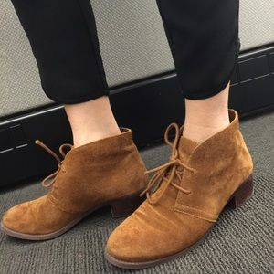 Circa Shoes - Brown suede ankle boots